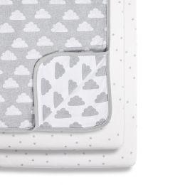Snuz 3pc Crib Bedding Set Cloud Nine