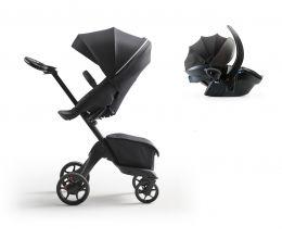 Stokke® Xplory® X Pushchair & Car Seat Rich Black