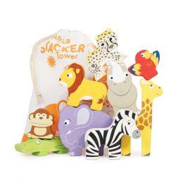 Le Toy Van Africa Stacker & Cotton Bag