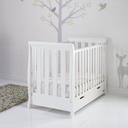 Obaby Stamford Mini Cot Bed White
