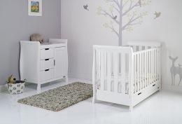 Obaby Stamford Mini 2 Piece Room Set White