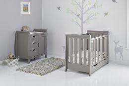 Obaby Stamford Mini 2 Piece Room Set Taupe Grey