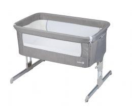 Safety 1st Calidoo Side Sleeping Crib Warm Grey
