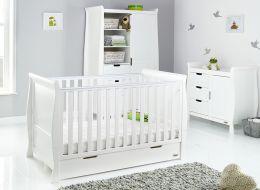 Obaby Stamford Classic 3 Piece Room Set White
