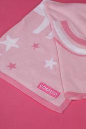 Ziggle Blanket Unicorn Land by Cosatto Pink