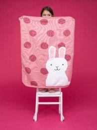 Ziggle Sherpa Blanket Bunny Buddy by Cosatto Pink