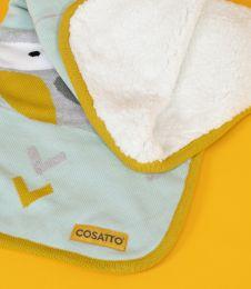Ziggle Sherpa Fleece Blanket Bureau by Cosatto Yellow