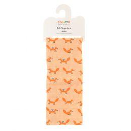 Ziggle Muslin Mister Fox by Cosatto Orange