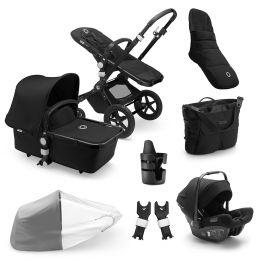 Bugaboo Cameleon 3 Plus Complete Ready To Go Bundle Black / Black