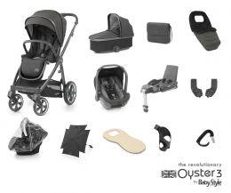 BabyStyle Oyster 3 Ultimate Bundle Pepper City Grey