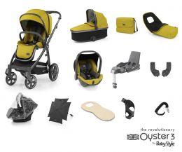BabyStyle Oyster 3 Ultimate Bundle Mustard City Grey