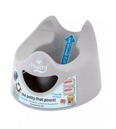 Pourty Easy To Pour Potty Grey