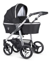 Venicci Silver 3 in 1 Travel System Wild Black (inc Car Seat)