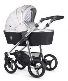 Venicci Silver 3 in 1 Travel System Wild Grey (inc Car Seat)