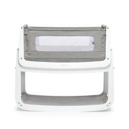 SnuzPod4 Bedside Crib Dusk Grey