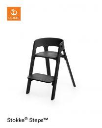 Stokke® Steps™ Bundle Plus Baby Set Black (Plus FREE Tray)