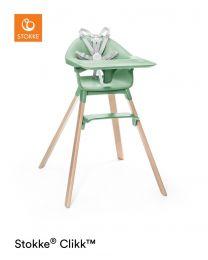 Stokke® Clikk™ High Chair Clover Green Plus FREE Travel Bag