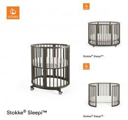 Stokke® Sleepi™ Mini / Bed Package Hazy Grey