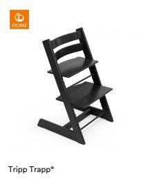 Stokke® Tripp Trapp® Chair Black & Cushion (+ Free Baby Set)