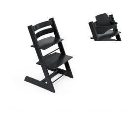 Stokke® Tripp Trapp® Chair & Baby Set™ Black