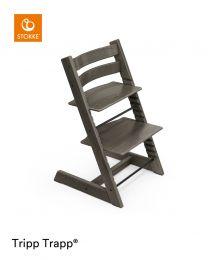 Stokke® Tripp Trapp® Chair Hazy Grey & Cushion (+ Free Baby Set)