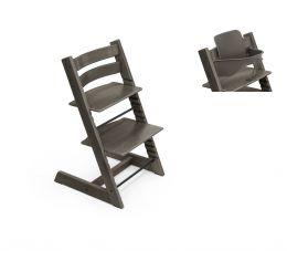 Stokke® Tripp Trapp® Chair & Baby Set™ Hazy Grey