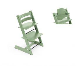Stokke® Tripp Trapp® Chair & Baby Set™ Moss Green