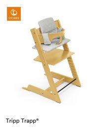 Stokke® Tripp Trapp® Chair Sunflower Yellow & Cushion (+ Free Baby Set)