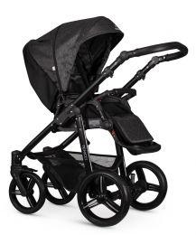 Venicci Soft 3 in 1 Travel System Denim Black (inc Car Seat)