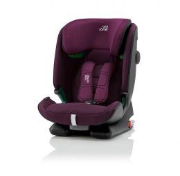 Britax Advansafix I-Size Car Seat Burgundy Red