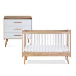 Silver Cross Westport Cot Bed & Dresser