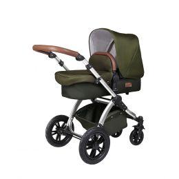 Ickle Bubba Stomp V4 Special Edition Pram & Pushchair Woodland/Chrome