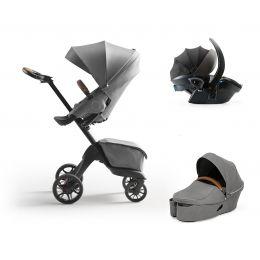 Stokke® Xplory® X Complete Travel System Modern Grey