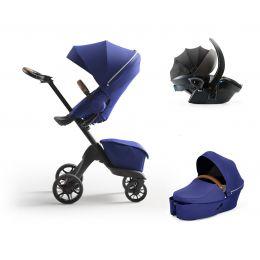 Stokke® Xplory® X Complete Travel System Royal Blue