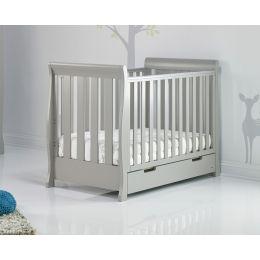 Obaby Stamford Mini Cot Bed Warm Grey