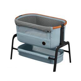 Maxi Cosi Iora Side Sleeping Crib Essential Grey
