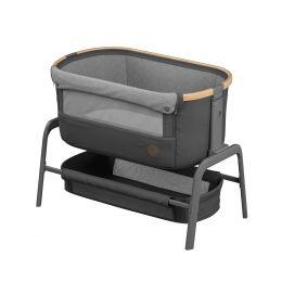 Maxi Cosi Iora Side Sleeping Crib Essential Graphite