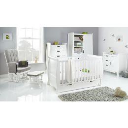 Obaby Stamford Classic 5 Piece Room Set White