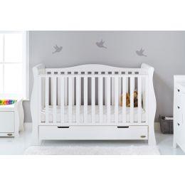 Obaby Stamford Luxe 2 Piece Room Set White