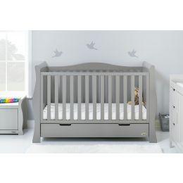 Obaby Stamford Luxe 2 Piece Room Set Warm Grey
