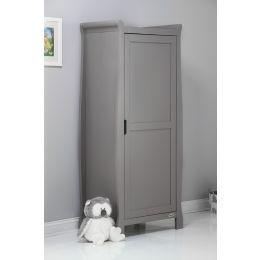 Obaby Stamford Single Wardrobe Taupe Grey