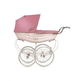 Silver Cross Balmoral Pram Pink
