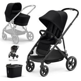 Cybex Gazelle S Pushchair & Carrycot Black Frame