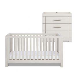 Silver Cross Coastline Cot Bed & Dresser