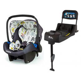 Cosatto Port Car Seat Fika Forest & Isofix Base (X-Display)