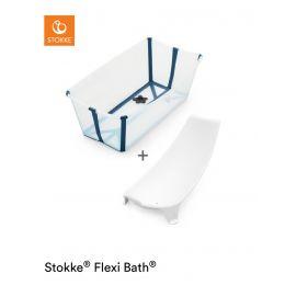 Stokke® Flexi Bath® Bundle Transparent Blue