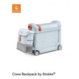 JetKids™ by Stokke® Travel bundle: BedBox™ + Crew BackPack™ Blue Sky