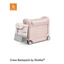 JetKids™ by Stokke® Travel bundle: BedBox™ + Crew BackPack™ Pink Lemonade