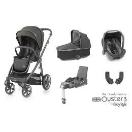 BabyStyle Oyster 3 Essential Bundle Pepper City Grey