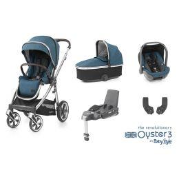 BabyStyle Oyster 3 Essential Bundle Regatta Mirror